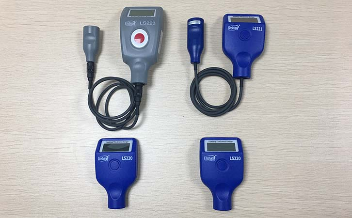 eddy current coating thickness gauges