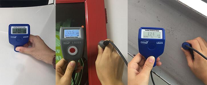 Linshang coating thickness gauges