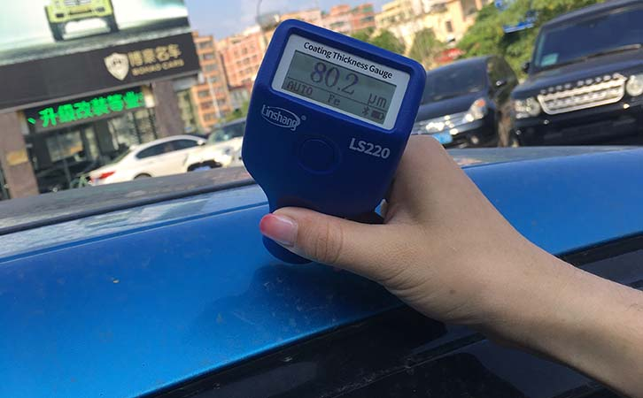 LS220 car paint meter