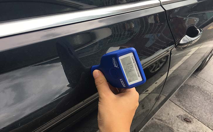 paint thickness meter test car paint thickness