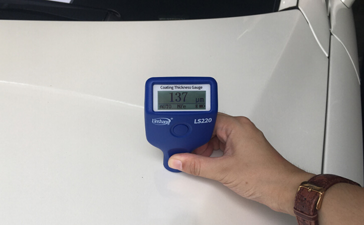 Mixed-use car market, paint coating thickness meter is essential!