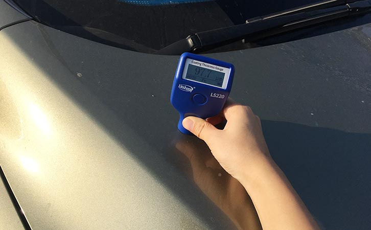 Coating Thickness Gauge   Car Metal Anti-corrosion Coaing Thickness