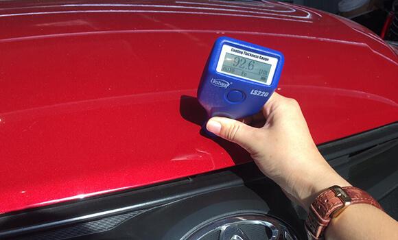 auto paint meter