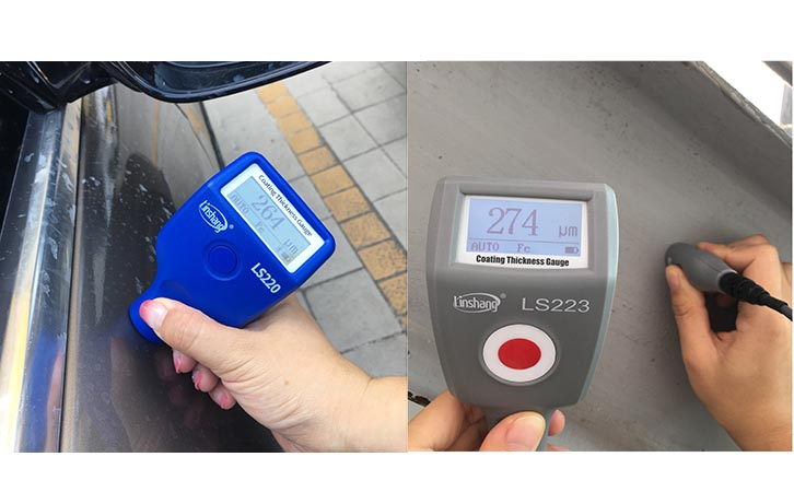 Paint Thickness Meter for Coating Thickness Measurement