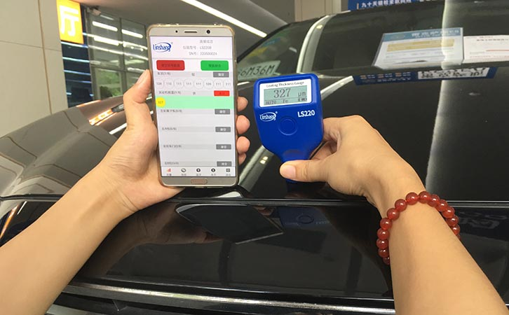 How to Effectively Use the Automotive Paint Meter?