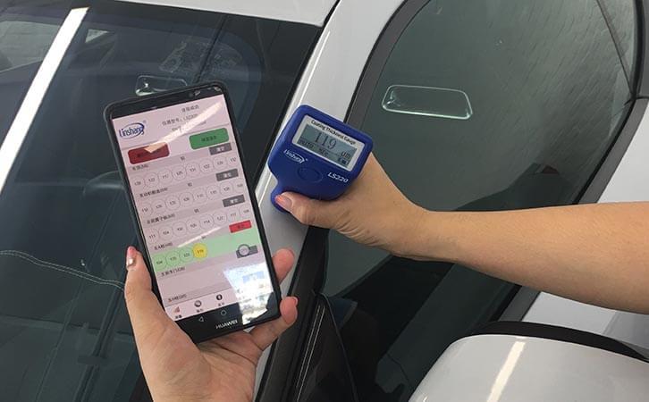 Linshang car paint thickness gauge