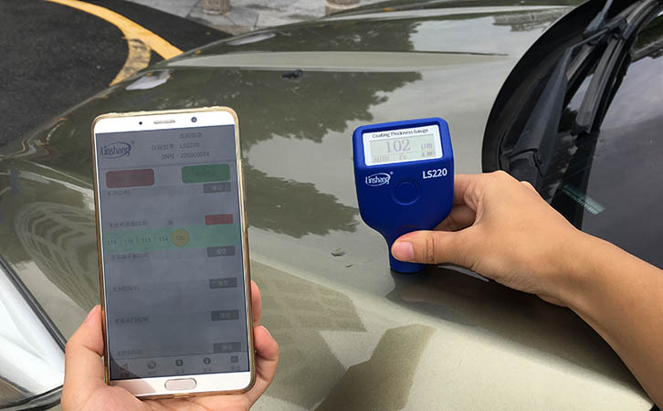 Use Car Paint Thickness Gauge to Identify the Used Car