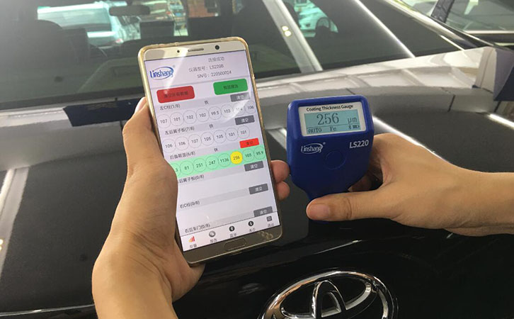 bluetooth car paint meter