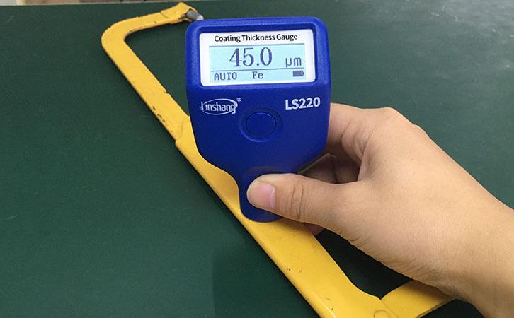 LS220H metal paint thickness gauge test metal