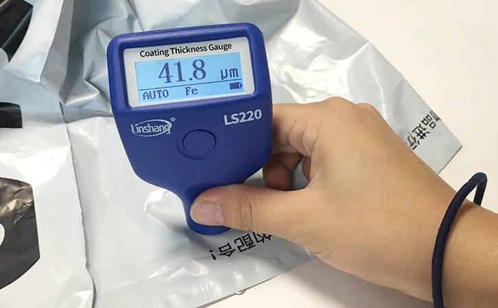 LS220H paint thickness gauge