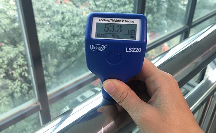 LS220H magnetic thickness gauge
