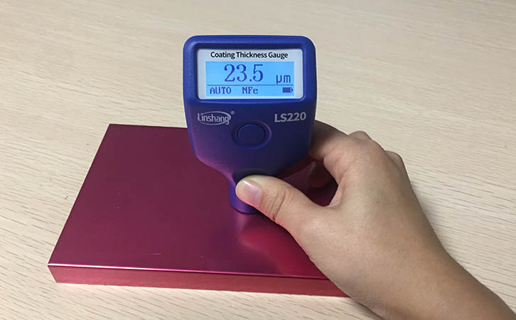 Thickness requirements of aluminum alloy paint   Coating Thickness Gauge