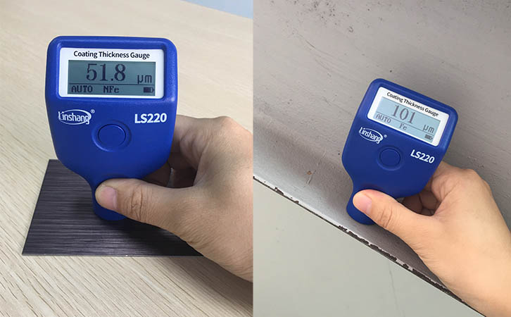 magnetic thickness gauge