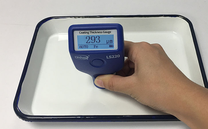 Use Magnetic Thickness Gauge to Measure Enamel Coating Thickness