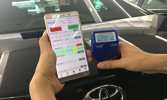 Car Paint Thickness Gauge Evaluate Used Car