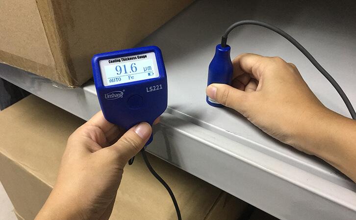LS221 paint gauge meter