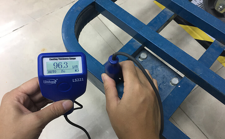 LS221 film coating thickness gauge