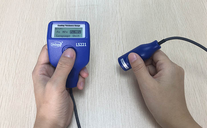 LS221 paint thickness tester