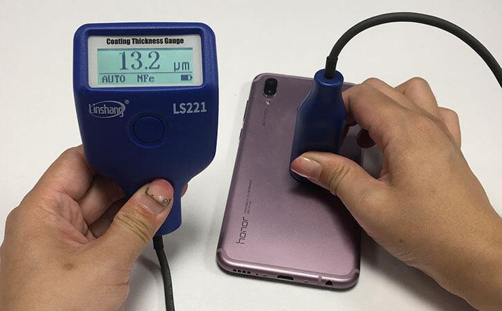 LS221 coating thickness gauge