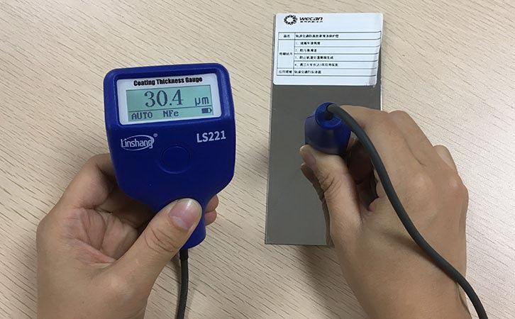LS221 film thickness gauge