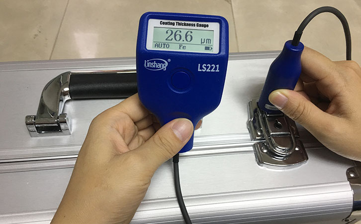 LS221 paint thickness meter