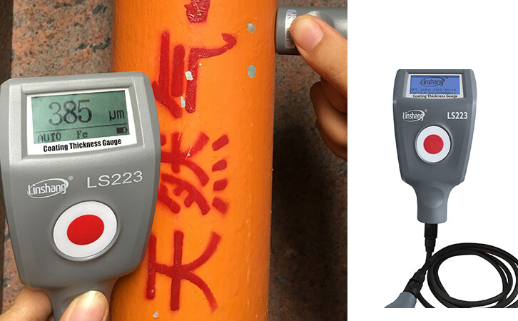Plating Thickness Measuring Instrument for Detecting Anti-corrosion Coating