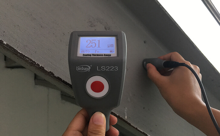 LS223 paint coating thickness gauge meter