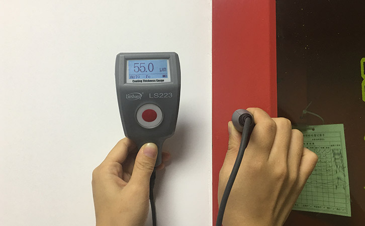 magnetic paint thickness tester