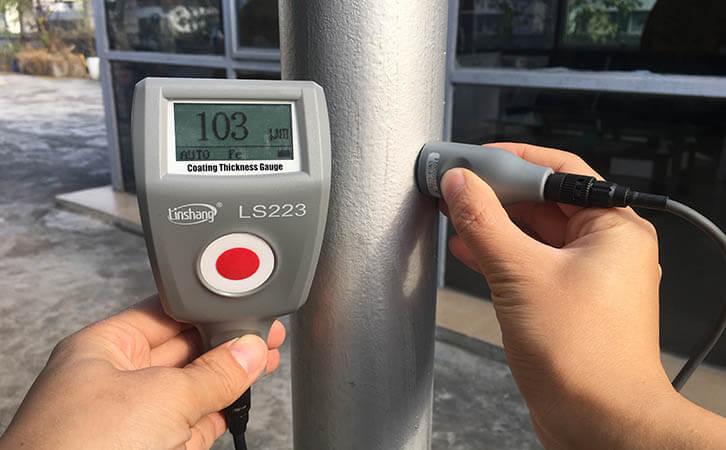 Anticorrosive coating thickness gauge