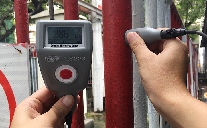high precision coating thickness gauge