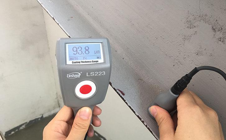 paint mil gauge