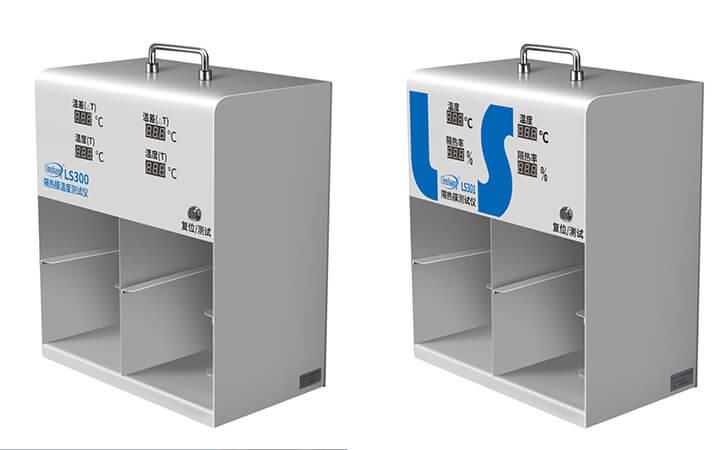 Differences between LS300 and LS301 Solar Film Temperature Meter