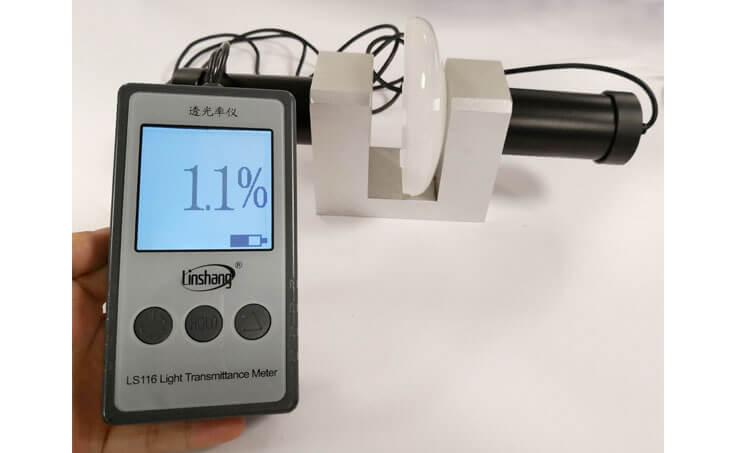 LS116 light transmittance meter