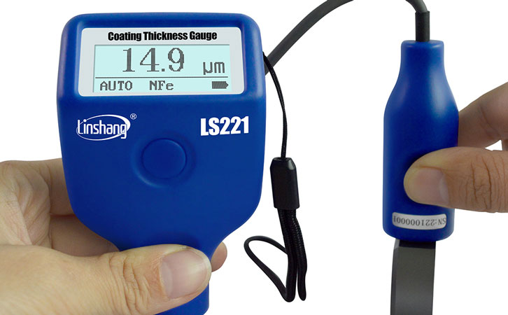 LS221 automotive paint meter