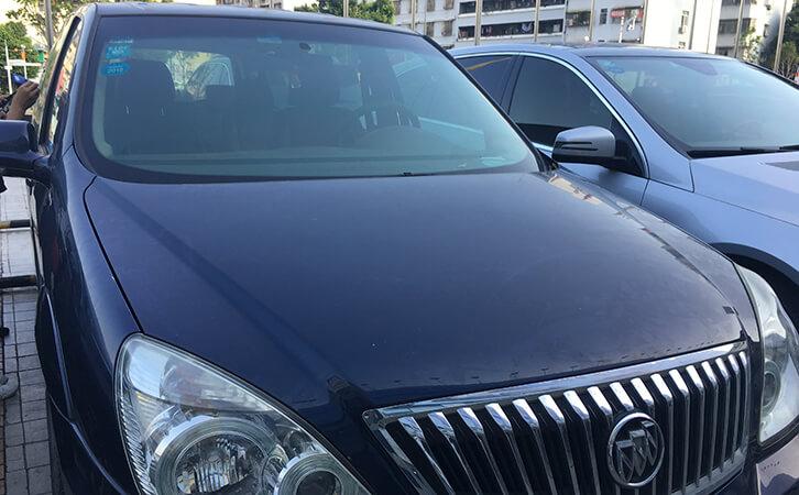 Automotive Paint Thickness Gauge Test Buick GL8