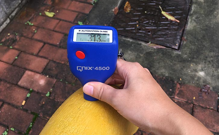 Qnix podwer coating thickness gauge