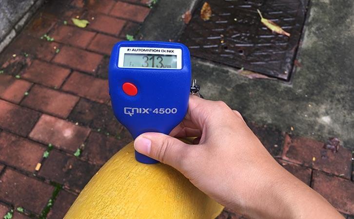Qnix podwer coating thickness gauge