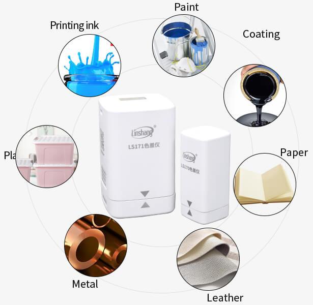 portable colorimeter application