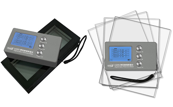 Device for Glass Thickness Measurement