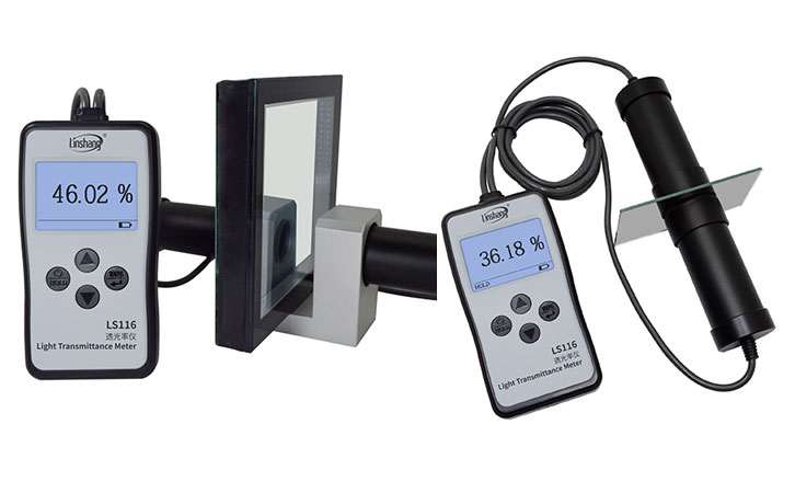 light transmission meter glass