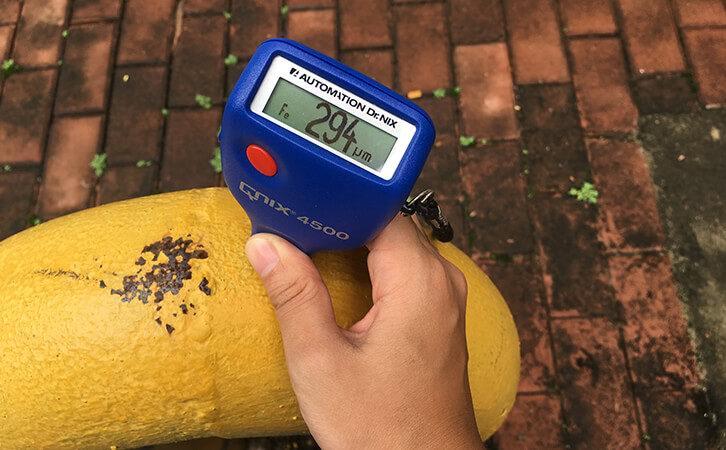 German Q-nix Digital Thickness Gauge Meter