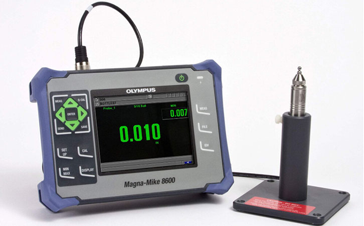Hall Effect dry mil thickness gauges