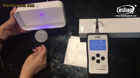 UV Dosimeter Used to Measure UVGI Light Intensity and UV Dose