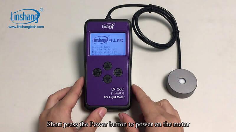 UV Light Intensity Meter Maintenance and Operation