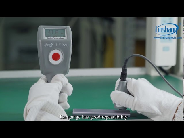 Linshang LS223 coating thickness gauge